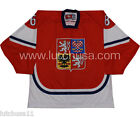 Czech Republic National Team Jaromir Jagr 68 Lutch Replica Hockey Jersey