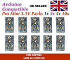 Arduino Pro Mini 3.3V 8 Mhz compatible multipacks Same Day Dispatch - UK Seller
