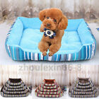 Large Pet Dog Cat Bed Puppy Cushion Basket Soft Warm Pad Durable Kennel Mat SXXL