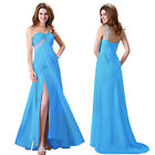 HOT Long Celebrity Bridesmaid Formal Gown Ball Party Cocktail Evening Prom Dress