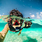 Diving Mask Scuba Snorkel Goggle Face Glass Lens Mount for GoPro Hero 2 3 3+ 4 5