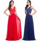 HOT Long Chiffon Bridesmaid Dresses Formal Gown Ball Party Cocktail Evening Prom