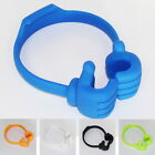 Newest Lovely OK Two Hands Adjustable Stand Thumb Pads Mobile Phone Holder