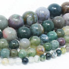 "Natural Gemstone Beads Round 4mm 6mm 8mm 10mm 12mm 15.5"" Strand фото"