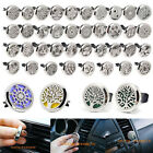 316L Stainless Steel Locket Car Vent Clip Air Freshener Essential Oil Diffuser