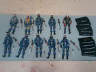 COBRA TROOPER lot OFFICER destro gi joe 25th
