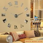 Wall clock watch clocks home decoration 3d acrylic special diy sticker Living Ro