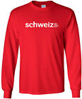 Swiss International Airlines Retro Logo Switzerland Airline Long-Sleeve T-Shirt