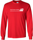 Trans World Express Retro Logo US Airline Long-Sleeve T-Shirt