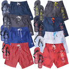 Smith & Jones Mens Bayron Decibel Summer Beach Swim Shorts With Free Flip Flops