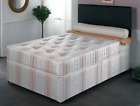 Empress Clio Divan Bed mattress & base available in 3 sizes single, double,king