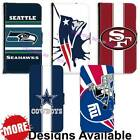 American Football Sports Team PU Leather Wallet Case for LG Samsung Huawei HTC