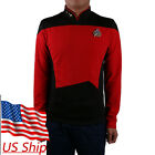 Star Trek TNG Uniform Cosplay Star Trek Red Shirt Starfleet Operations Uniforms on eBay