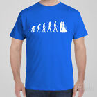 Funny T-shirt EVOLUTION OF WEDDING bucks party - game over- groom gift idea