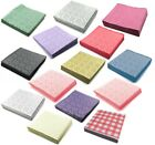 Paper Table Covers Celebration Square Disposable Table Cloths All Colours Party