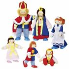 Goki Flexible Poseable movable Wooden Dolls House Family Pirate Nurse Baby