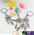 Dream Catcher With Bead Feather Tassels Charm Pendant Keyring Keychain Key Ring