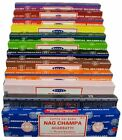Satya Genuine Nag Champa Incense Sticks Joss 15g - Assorted