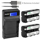 Kastar NP-F570 Battery Charger for Sony NP-F330 NP-F550 NP-F570 LED Vedio Light