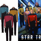 Star Trek TNG Jumpsuit Uniforms The Next Generation Red Yellow Blue Costumes Pin