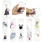 Colorful Ultra Slim Rubber Soft TPU Silicone Back Case Cover For Various Phone