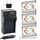 Kastar BN1 Battery and Normal Charger Kit for Sony NP-BN1 Type N CyberShot DSC W