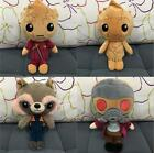 Guardians of The Galaxy Vol 2 Star-Lord Baby Groot Rocket Raccoon Plush Toy Doll