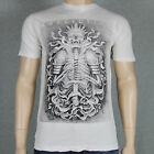 Affliction JOSH DUFFY A10285 Mens T-shirt  Vintage White X-Large