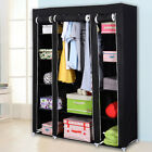 69  Portable Closet Storage Organizer Clothes Wardrobe Shoe Rack with Shelves ER