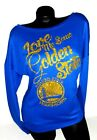 LOVE ME SOME GOLDEN STATE WARRIORS!Terry Scoop Longsleeve~Add Name & # back $10