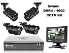 "Swann DVR4 1600 720p 500GB HDD CCTV Kit 7"" Monitor 4x 720p HD 1MP Bullet Cameras"