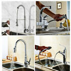 Single-handle/hole Pull-out Spray Kitchen Sink Faucet Chrome Swivel Mixer Taps