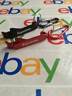 SUPREME Bottle Opener Keychain key chain BLACK RED FREE US SHIPPING
