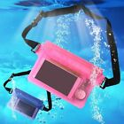 Waterproof Waist Pouch Bags Underwater Dry Cases Cover New for iPhone Cell Phone