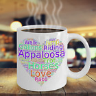 Appaloosa Horse Lover Mug Appy Horses art cup native american spotted breed USA