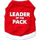 Внешний вид - LEADER OF THE PACK Dog Vest Pet Puppy Cat T-Shirt Summer Clothes Coat Apparel