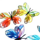 B185- Butterflies Weddings Crafts, Cake Topper Decorations Cards