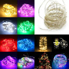 20/50/100 LED String Battery USB 12V Operated Copper Wire Fairy Light Xmas Party