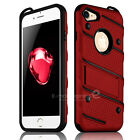 For Apple iPhone 8 / 7 Plus Military Grade Kickstand Rugged Armor Case Cover