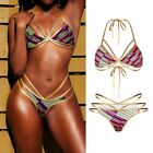 Women Brazilian Push-up Bikini Set Bandage Swimsuit Swimwear Bathing Beachwear