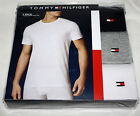 Tommy Hilfiger 3 PACK T-Shirts Navy Gray Mens Classic Crew Neck M L XL $39.99