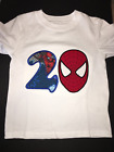 Spiderman Birthday Shirt 1st, 2nd, 3rd, 4th, 5th Personalized