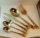 Wm. Rogers & Son Enchanted Rose Gold Electro Plated Silverware Flatware Pieces