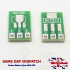 PCB 2 Side Converter Adapter Board SOT89 to DIP3 SOT223 SIP3 2.54mm Pitch W131