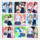 Love Live! Lovelive Aqours 9 Roles Navy Cosplay Costume Sailor Dress Outfit