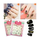 Newest Zip Stickers Water Transfer Nail Art Zippers Bling Gold Silver Color