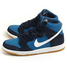 Nike SB Zoom Dunk High Pro Obsidian/White-Industrial Blue 854851-414 Lifestyle