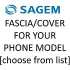 Sagem Mobile Phone Fascia/Cover/Housing for YOUR exact model [Choose from list]