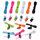 Portable  Mini Micro USB Electric Fan Phone Cooler For Samsung HTC LG Cell Phone