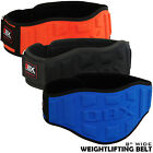 Weight Lifting Neoprene Belt Gym Fitness Training 8 inch Wide Back Supports